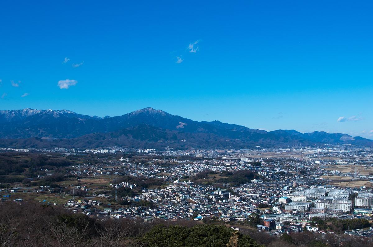 湘南平の景色