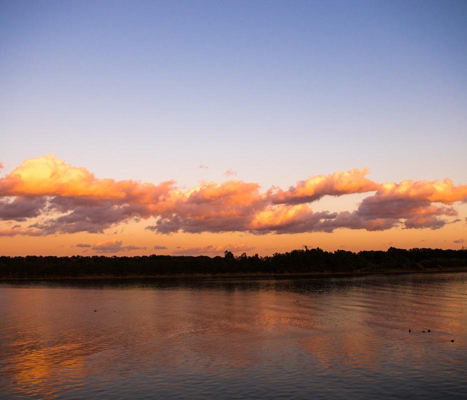 相模川の河口