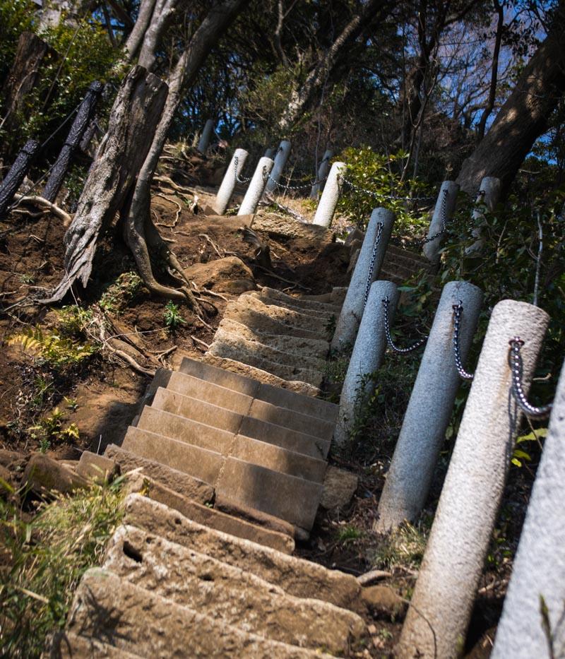 建長寺から勝上嶽展望台に登る