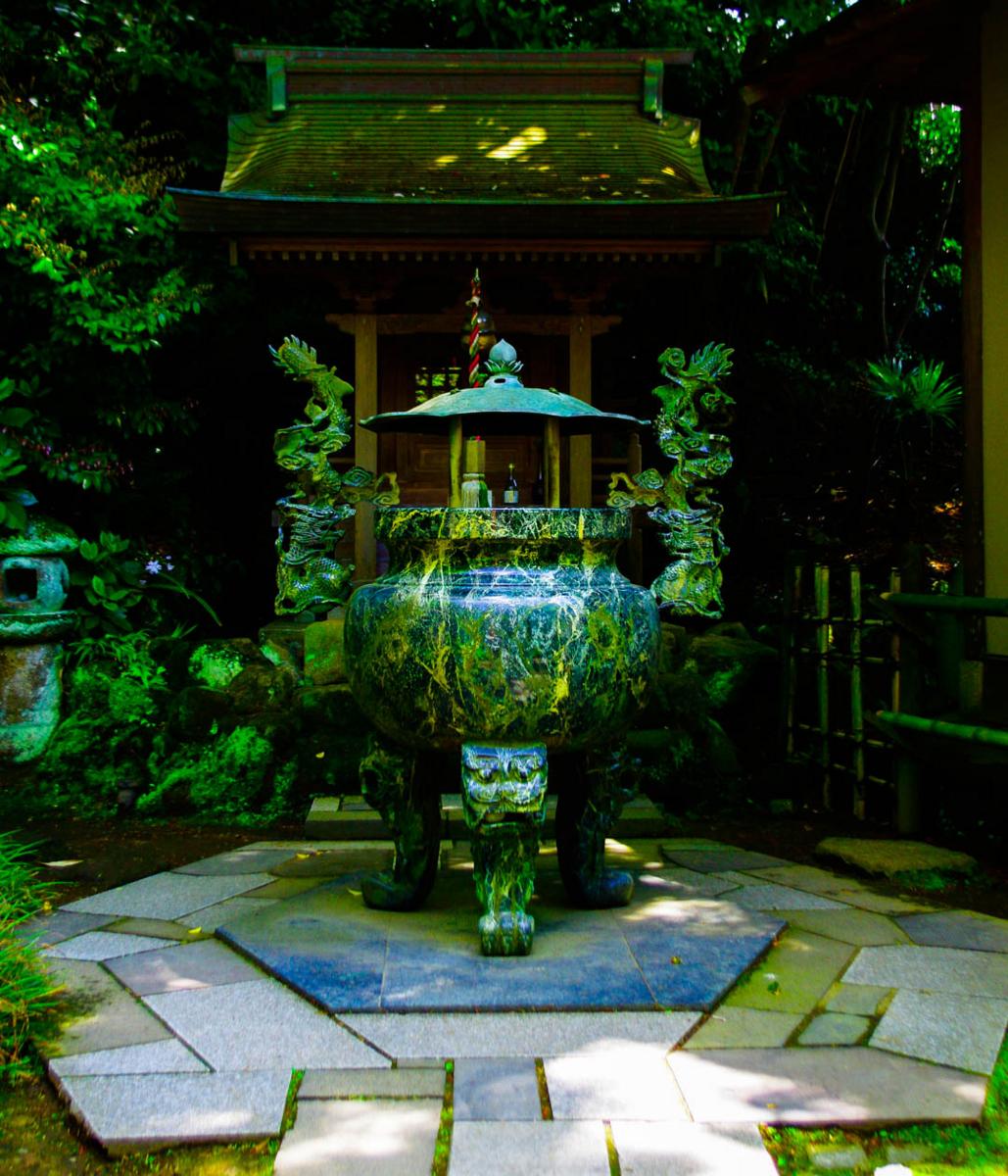 杉本寺と春。第一番札所。