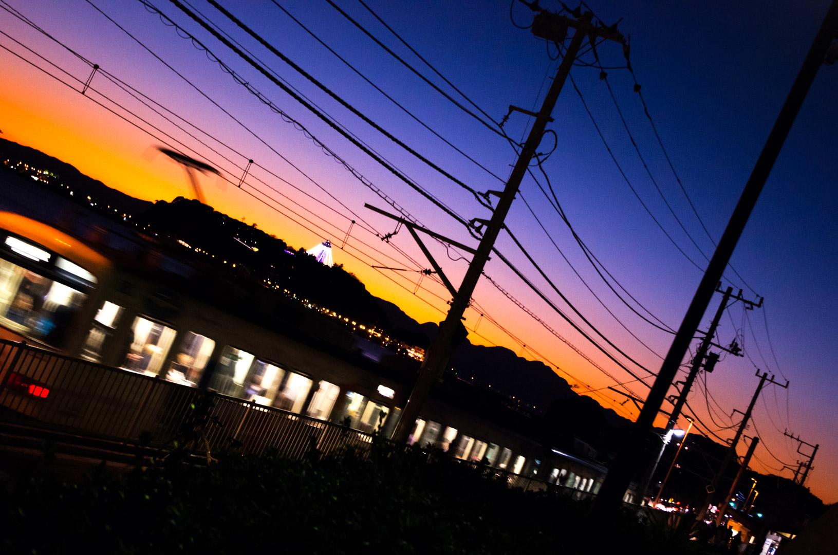 鎌倉高校前駅(江ノ電と聖地)