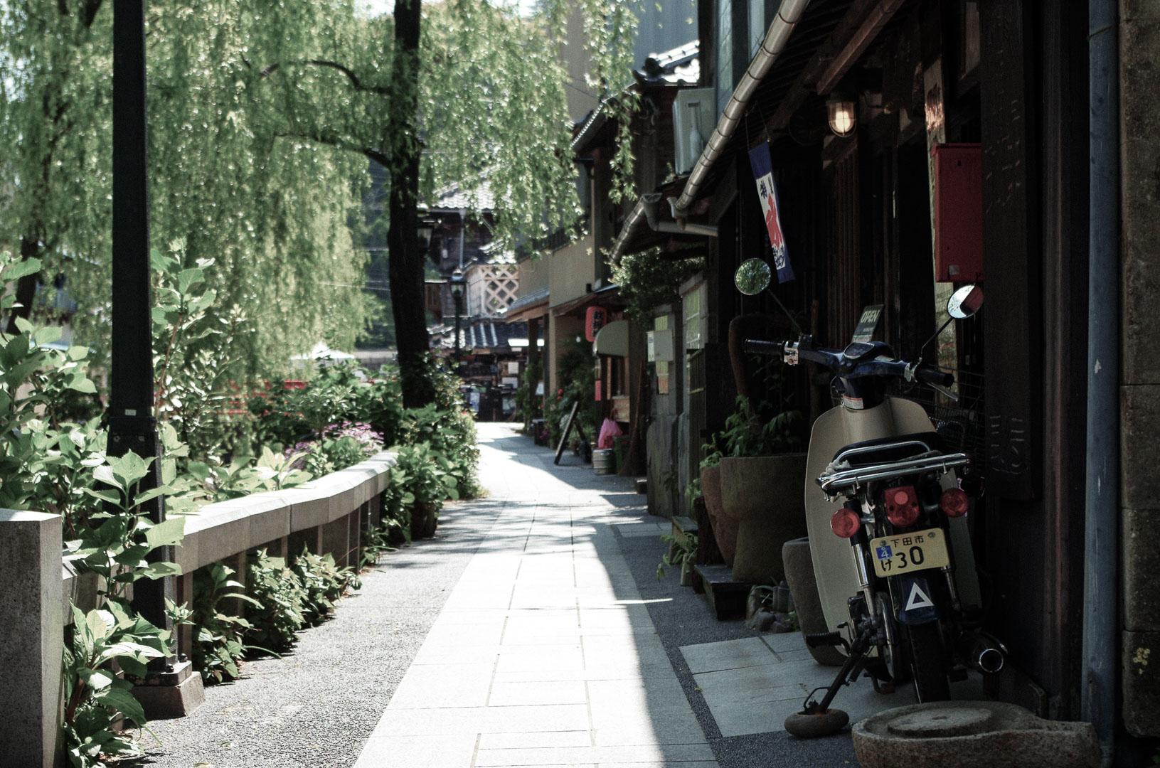 伊豆下田の街並みを撮りました