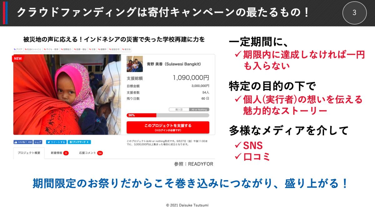 クラウドファンディングは寄付キャンペーンの最たるもの!