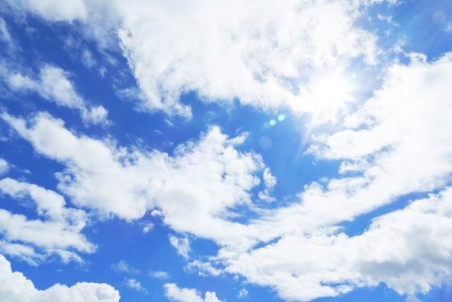 青空のイメージ