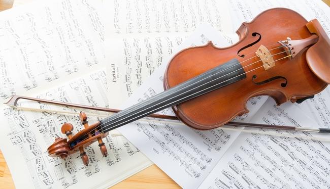 ヴァイオリンのイメージ