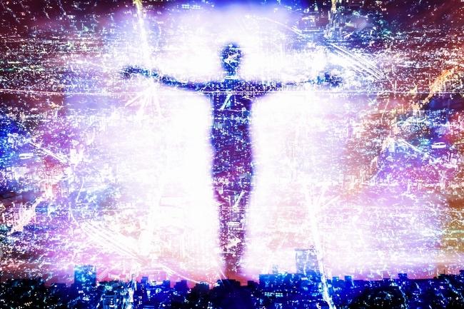 舞台で光を浴びるアイドルのイメージ