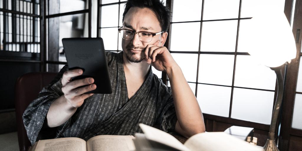電子書籍と紙の本、どっちが好きかというと…