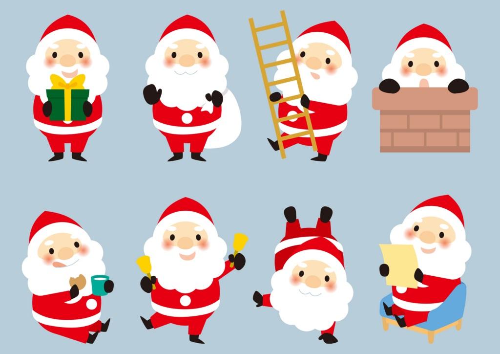 ゲーム2:Chubby Little Santa Claus(ちびっちゃサンタ )