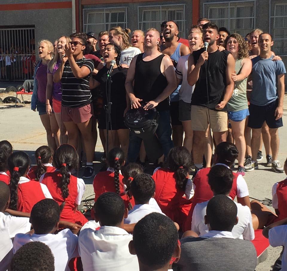南アフリカの子どもたちと心が通じた「ライオンキング」