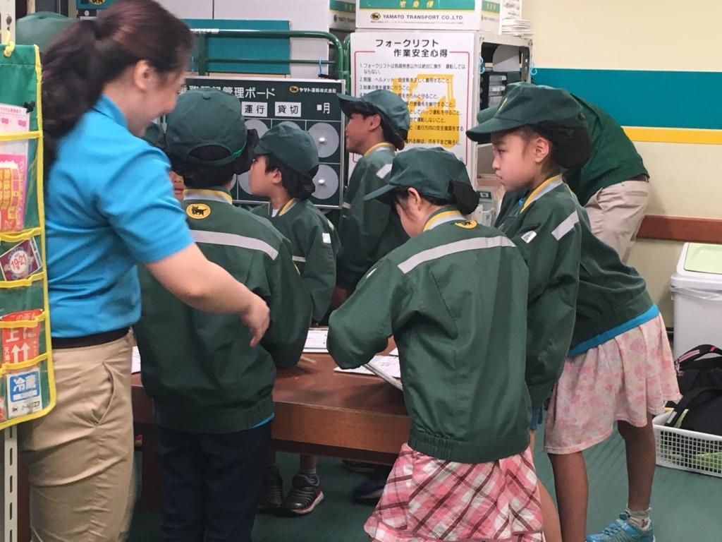 子どもが英語で体験できる宅配センターの仕事