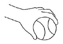 筋力アップ対策1:take の基本は「手でつかむ」こと