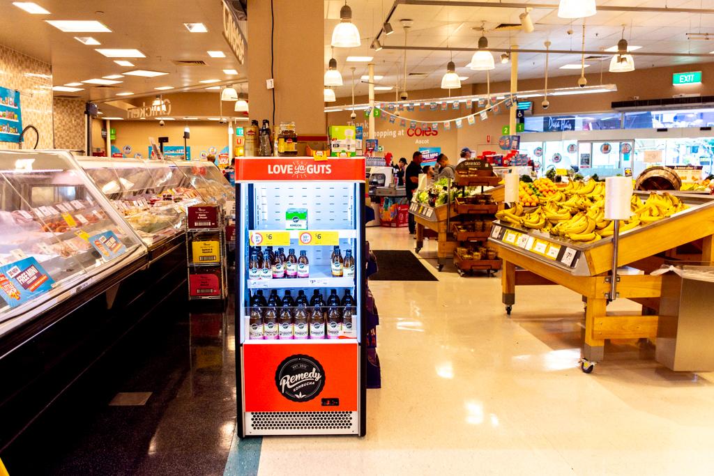 スーパーの特別な場所に昆布茶?