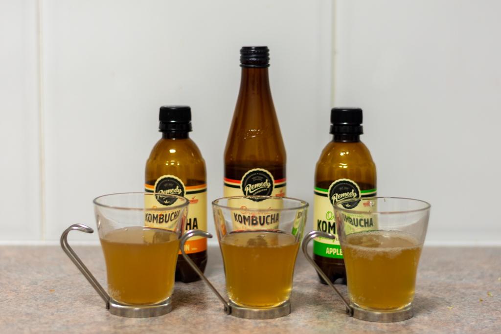 左からジンジャーレモン味、オリジナル味、アップルクリスプ味