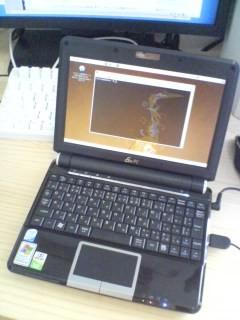 EeePC901×Ubuntu8.04