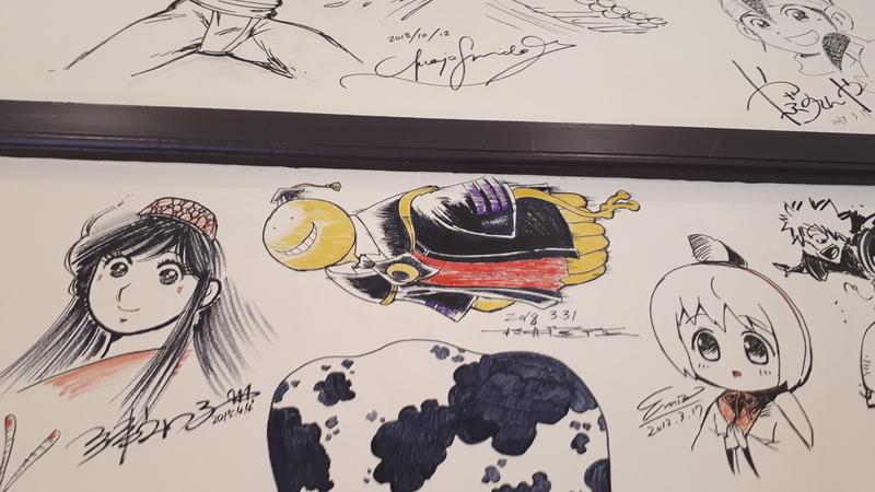 2018.11.11京都国際マンガミュージアム/旧前田珈琲/壁画12