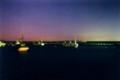 月夜の茅ヶ崎港