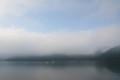 芦ノ湖朝霧