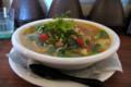 タイ風ピリ辛とうふスープ