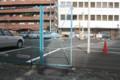駐車場のフェンス