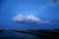 夜に向かう雲1