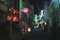2007年ころの渋谷BYGのある路地