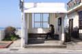 真名瀬のバス停留所