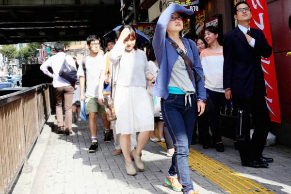 渋谷夏の昼2013