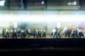 退勤の時間の駅
