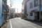 富士宮 カーブのある道