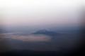 富士遠望 飛行機より