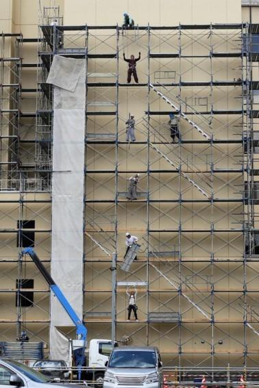 旭川 工事の人たち