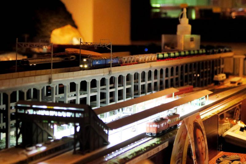 鉄道模型の走行音