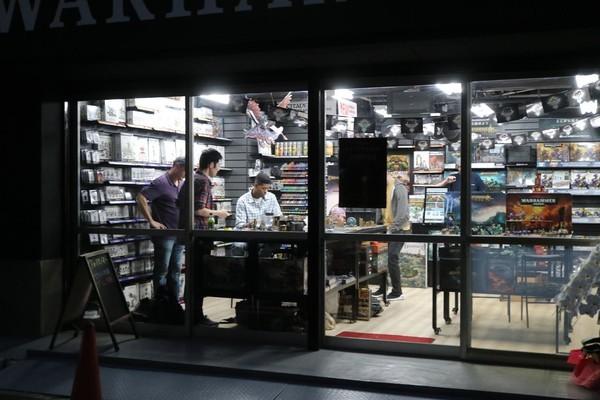 ミニチュアゲームの店