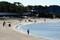 波のない浜辺
