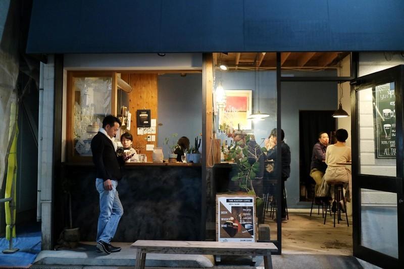 御成通りのカフェ