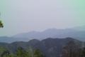高尾山山頂から。