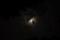 失敗、なんだけど映り込みの月の方は海まではっきり見えてるという不