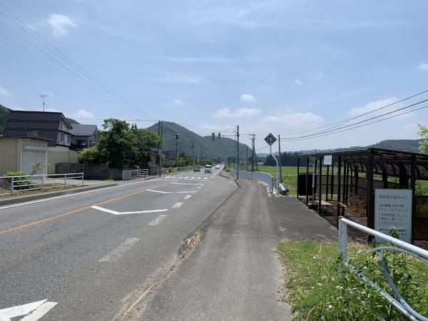 仲道バス停