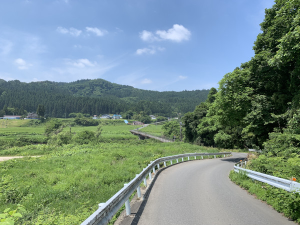 江合川越え