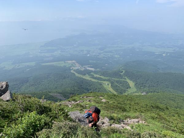 磐梯山ガレ場