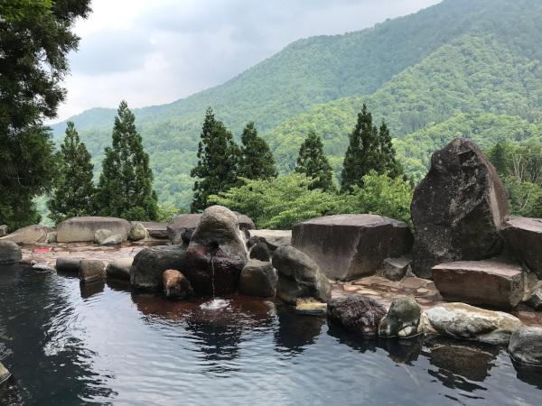 萌木の里露天風呂