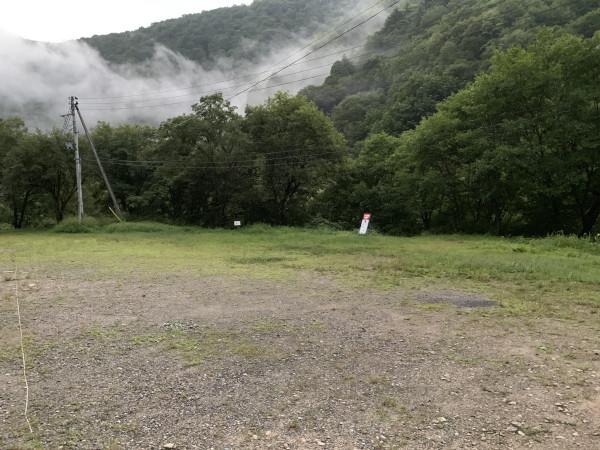 三岩岳 駐車場