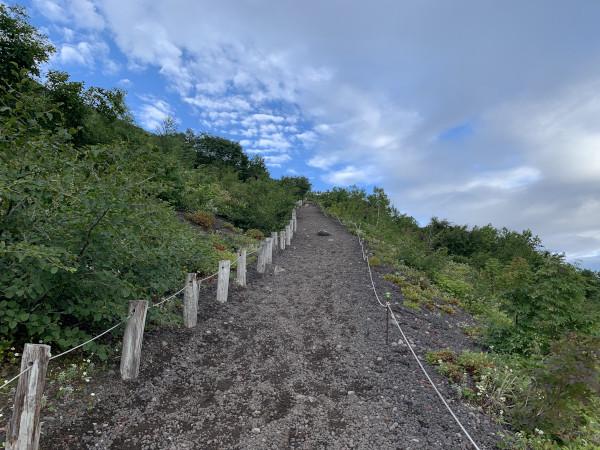 岩手山 コマクサロード