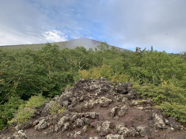 岩手山 第2噴出口跡