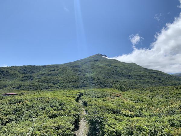 鳥海山 展望台より