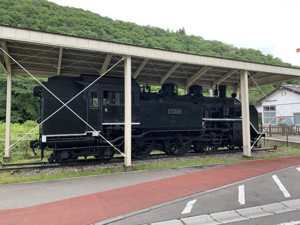 柳津駅 SL