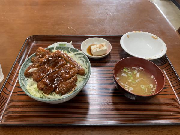 清水食堂 ソースかつ丼