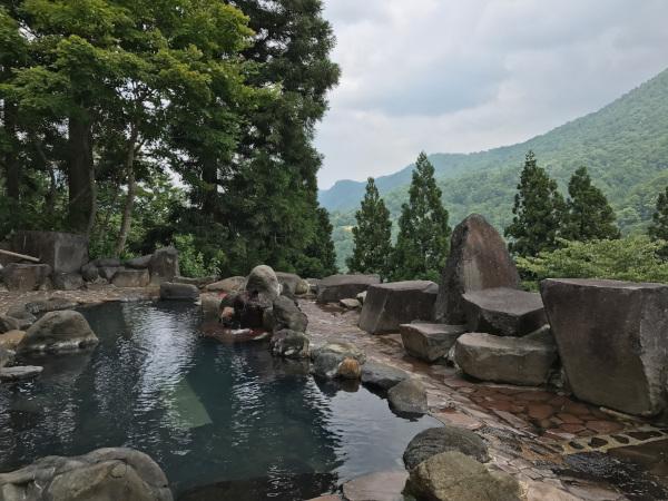 萌木の里 露天風呂