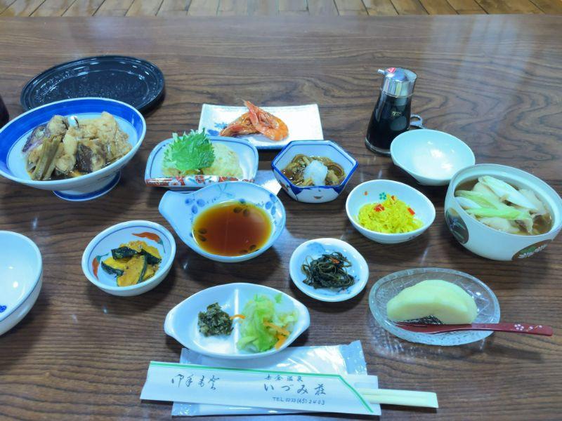 赤倉温泉 いづみ荘 夕食