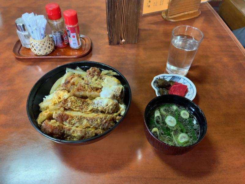 飯坂温泉 保原屋食堂 カツ丼